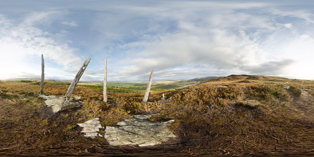 Abriachan Forest Viewpoint 360° Panorama