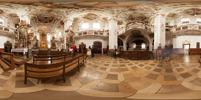 Andechs Abbey Church 360° Panorama