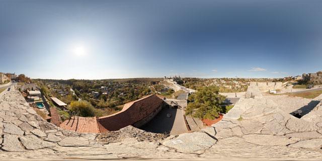 Armenian Bastion, Kamyanets-Podilsky 360° Panorama