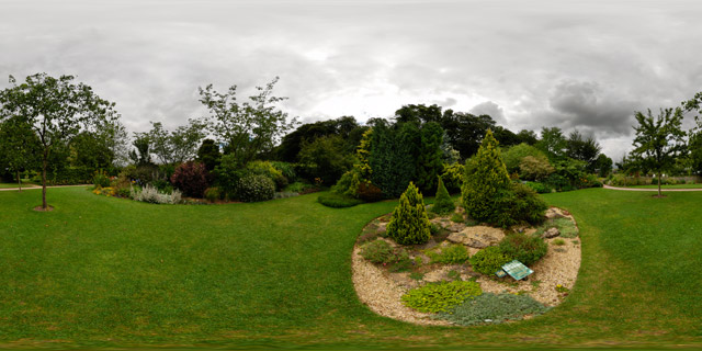 Barnsdale Gardens – Rock Feature 360° Panorama