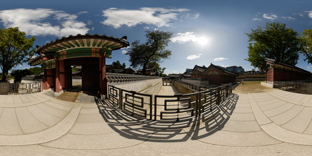 Changdeokgung palace – Gwolnaegaksa 360° Panorama