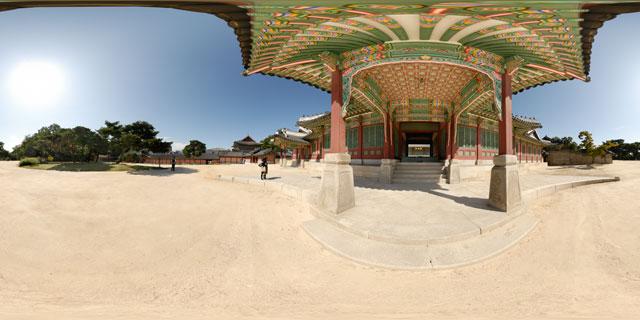 Changdeokgung palace – Huijeongdang front porch 360° Panorama