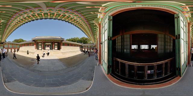 Changdeokgung palace – Huijeongdang 360° Panorama