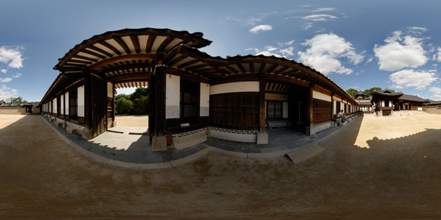 Changdeokgung palace – Nakseonjae area 360° Panorama