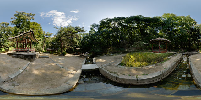 Changdeokgung palace – Ongnyucheon area 360° Panorama