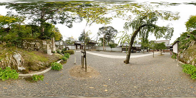 Chion-in Temple – Area outside Seishi-do 360° Panorama