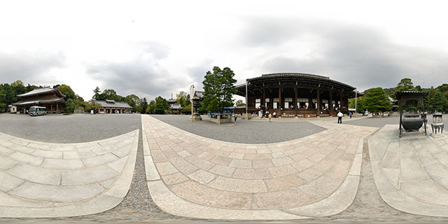 Chion-in Temple – Area outside the Main Hall 360° Panorama