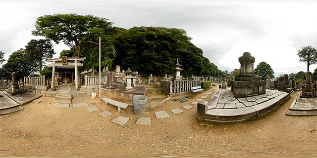 Chion-in Temple – Upper Graveyard 360° Panorama