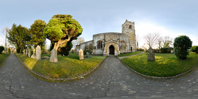 Church of St. John the Baptist 1 360° Panorama