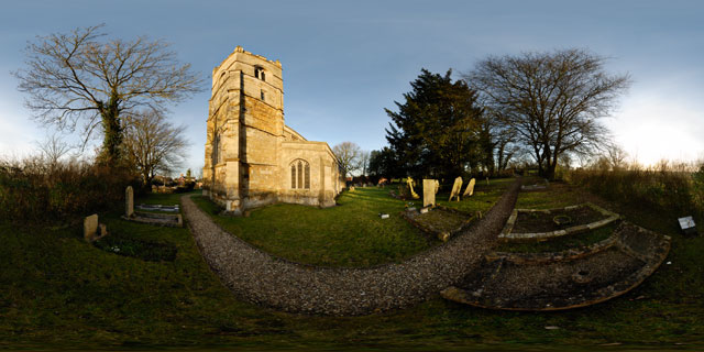Church of St. John the Baptist 2 360° Panorama