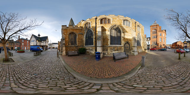 Church Square, Market Harborough 360° Panorama