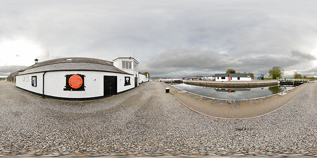 Clachnaharry Works Loch, Inverness 360° Panorama