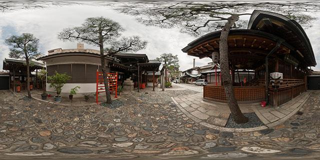 Ebisu Jinja, Kyoto 360° Panorama