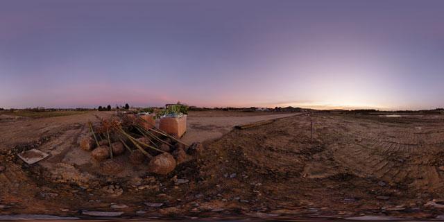 Farndon Fields Jan 2012 (II) 360° Panorama