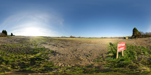 Farndon Fields Jan 2012 (IV) 360° Panorama