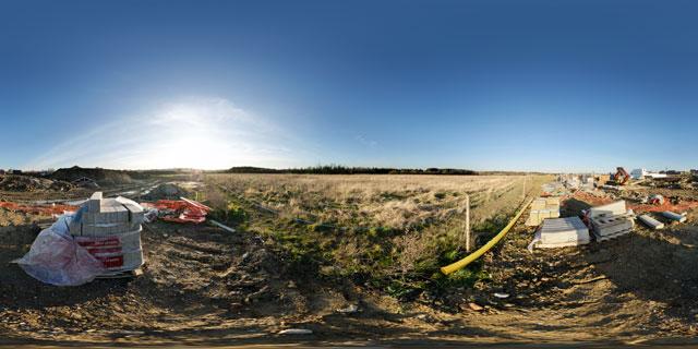 Farndon Fields Jan 2012 (V) 360° Panorama