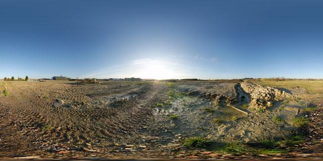 Farndon Fields Jan 2012 (VI) 360° Panorama