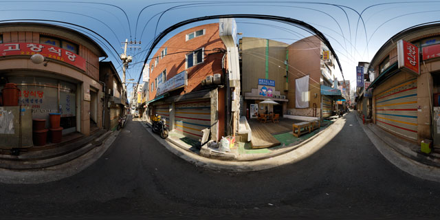 Hotel Biz Myeong-dong (명동비즈) and Ko Chang Restaurant (고창식당) 360° Panorama
