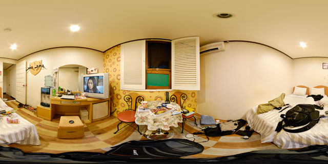 Hotel room at the Hotel Biz Myeong-dong 360° Panorama