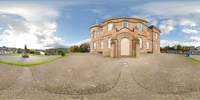 Inverness Castle 360° Panorama