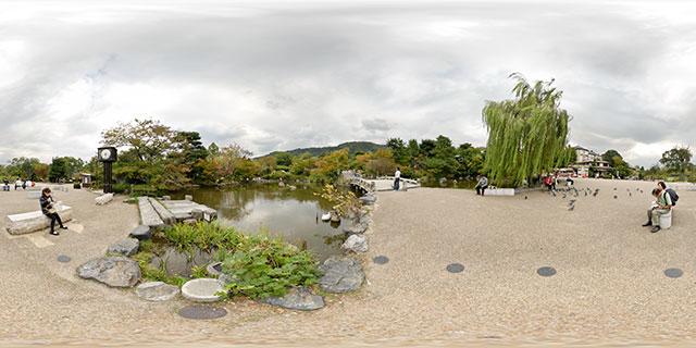 Maruyama Park, Kyoto 360° Panorama