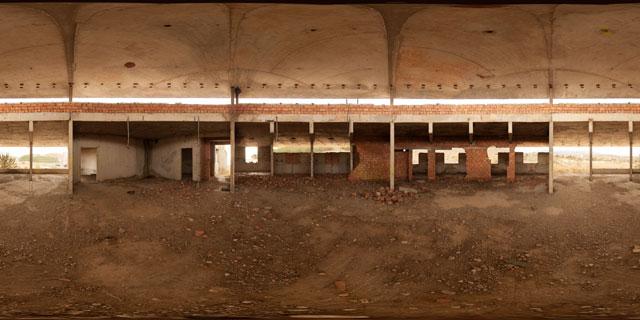 Medvezhonok Abandoned Resort Construction, Sudak 360° Panorama