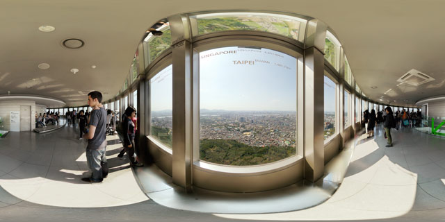 N Seoul Tower Observatory 360° Panorama