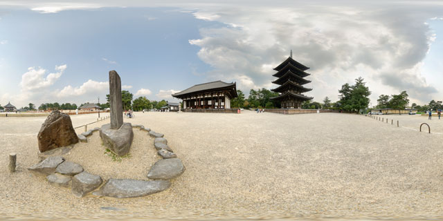 Nara – Kofuku-ji Temple 360° Panorama
