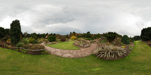 Rock Garden – Royal Botanic Garden Edinburgh 360° Panorama