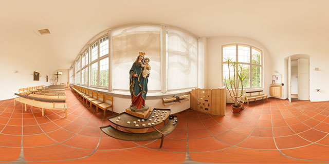 Schloss Hohenschwangau Castle Chapel of Christ the King 360° Panorama