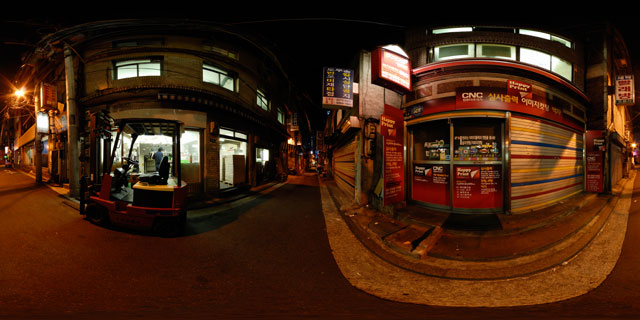 Seoul at night – Printers 360° Panorama