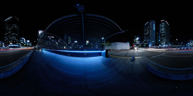 Seoul at night – Samil Bridge 360° Panorama