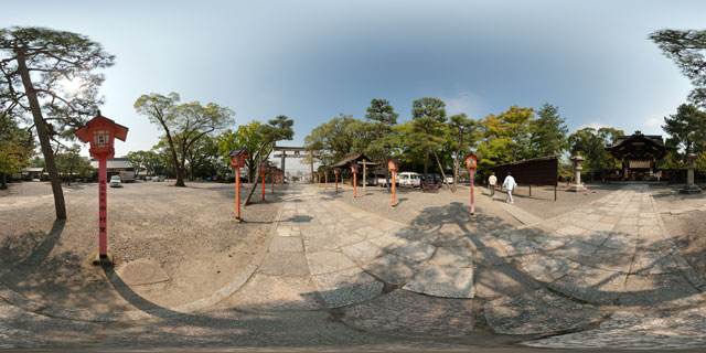 Toyokuni Shrine, Kyoto 360° Panorama