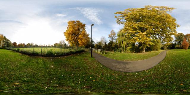 Welland Park in Autumn 4 360° Panorama