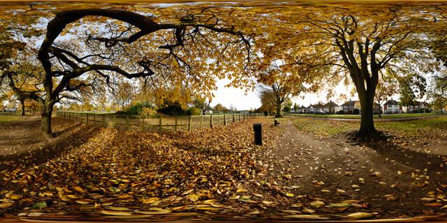 Welland Park in Autumn 5 360° Panorama