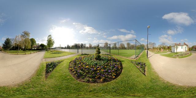 Welland Park in Spring 2 360° Panorama