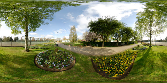 Welland Park in Spring 3 360° Panorama
