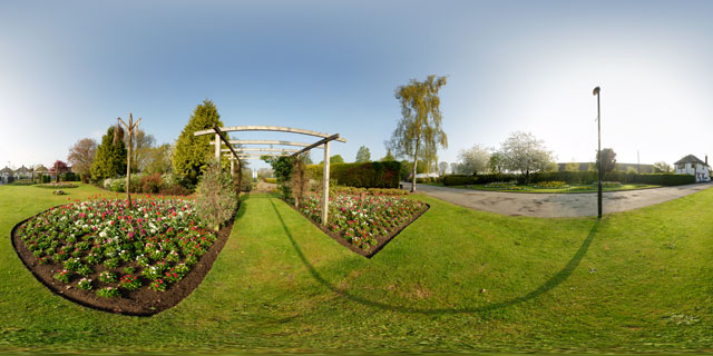 Welland Park in Spring 6 360° Panorama