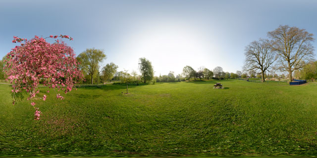 Welland Park in Spring 8 360° Panorama