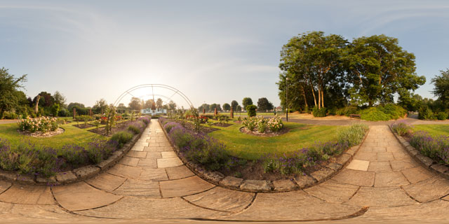 Welland Park Rose Garden 4 360° Panorama